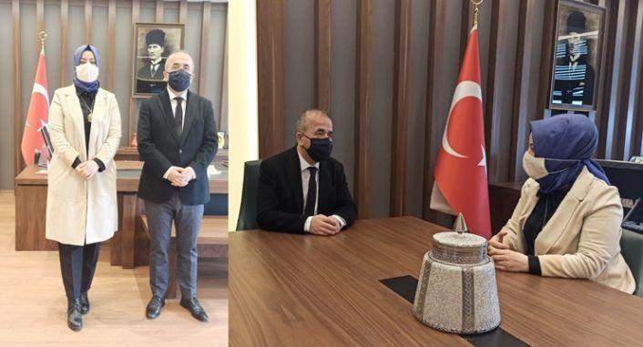 Gphaber'den Kaymakam Hatipoğlu'na Ziyaret.