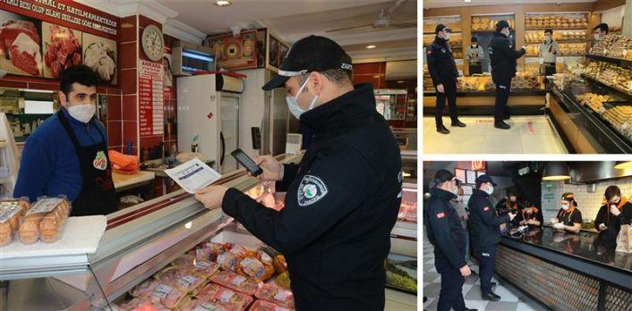Gaziosmanpaşa'da Kontrollü Normalleşme Denetimleri Aralıksız Sürüyor