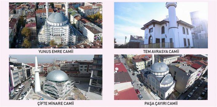 Gaziosmanpaşa'ya 4 yeni Camii