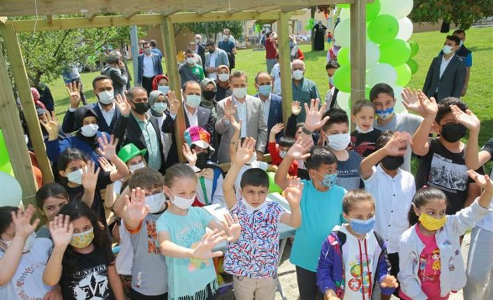 Gaziosmanpaşa'da Fetih Parkı Yenilenen Yüzüyle Hizmete Sunuldu
