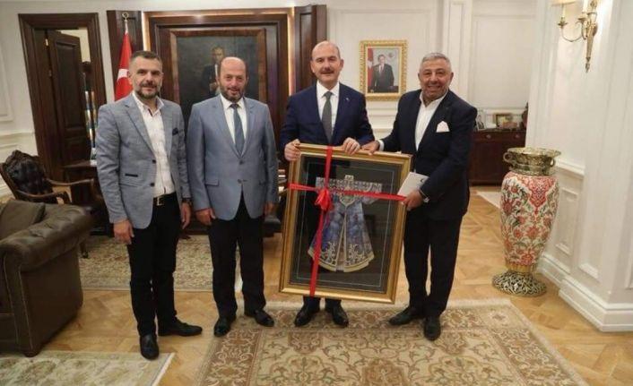 Trabzon Dernekleri Federasyonu'ndan Bakan Soylu'ya Destek