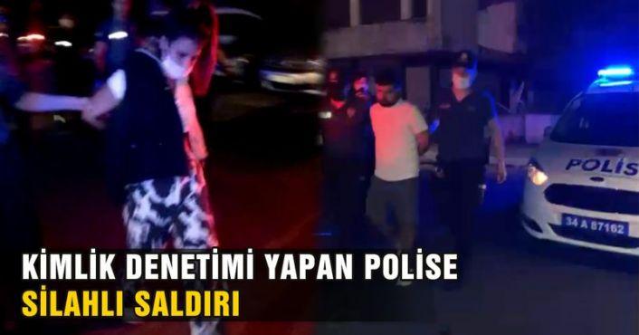 Gaziosmanpaşa'da polis memuruna silahlı saldırı