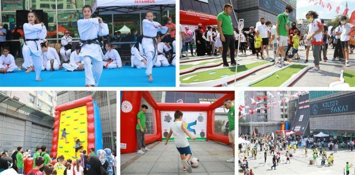 Gaziosmanpaşa Meydanı, Spor Merkezine Dönüştü