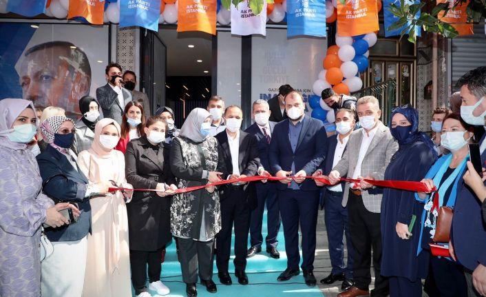 Ak Parti Gaziosmanpaşa Karadeniz Mahallesinde İrtibat Bürosu Açılışı Gerçekleştirdi.