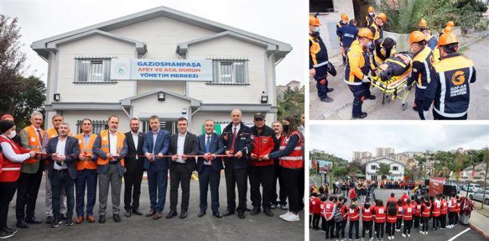 Gaziosmanpaşa'da afet ve acil durum yönetim merkezi açıldı