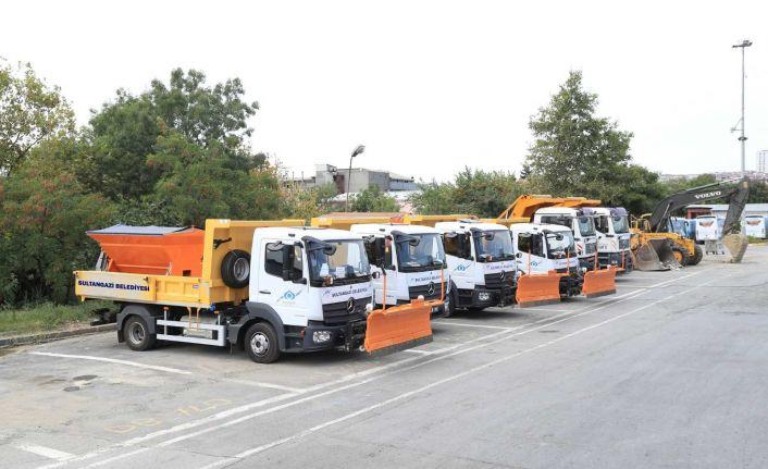 Sultangazi Belediyesi yol bakım filosunu 2021 model araçlarla güçlendirdi