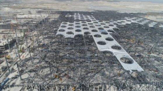 3'üncü havalimanı inşaatında son durum