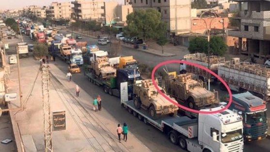 ABD'den YPG'ye 120 TIR'lık yeni silah sevkiyatı