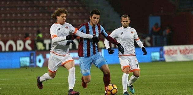 Adanaspor: 5 - Trabzonspor: 24