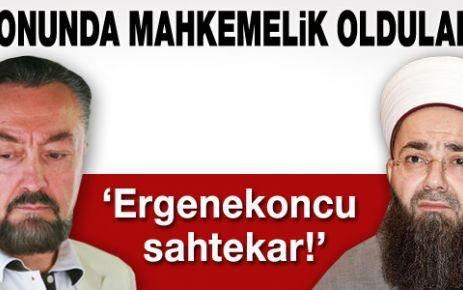Adnan Oktar ile Cübbeli Ahmet mahkemelik oldu