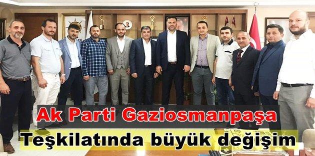 Ak Parti Gaziosmanpaşa Teşkilatında  büyük değişim