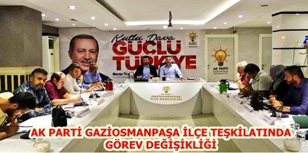 Ak Parti Gaziosmanpaşada Kan Değişimi