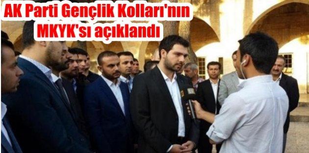 AK Parti Gençlik Kollarının MKYKsı açıklandı