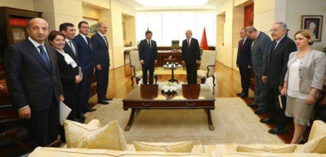 AK Parti ile CHP heyet görüşmelerine geçiyor