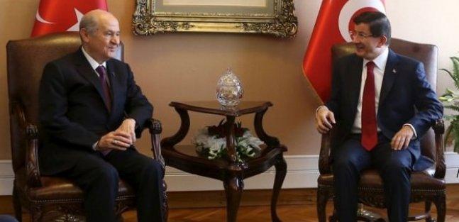 AK Parti MHP görüşmesi sona erdi