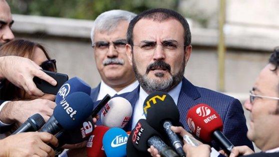 AK Parti Parti Sözcüsü Ünal: Şu anda herhangi bir belediye başkanından istifa talebi olmadı