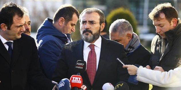 AK Parti Sözcüsü Ünal: ABD, PKK'yı silahlandırdığını itiraf etmiş oldu