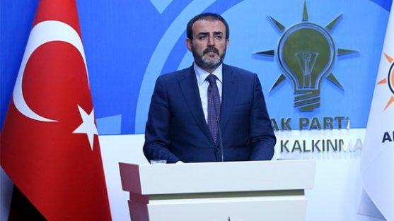 AK Parti Sözcüsü Ünal: Merkel'in açıklamasından sonra Interpol'ün Akhanlı'yı serbest bırakması anormaldir