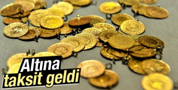 Altın alışverişlerinde kredi kartına taksit yapılabilecek