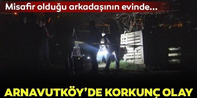 Arnavutköy'de misafir olduğu arkadaşının evinde intihar etti