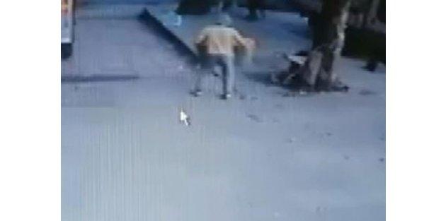 Arnavutköy'de polis ile motosikletli kovalamacası kazayla bitti