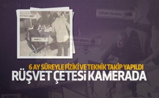 Arnavutköy'de tapudaki rüşvet çetesi