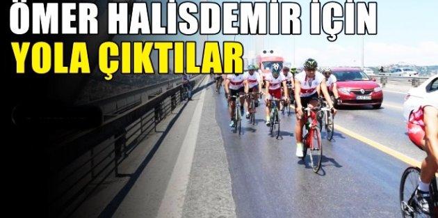 Arnavutköy'den Şehit Ömer Halisdemir için yola çıktılar