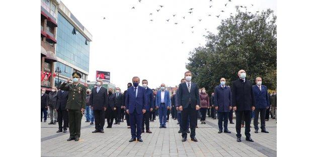 Gazi Mustafa Kemal Atatürk,Gaziosmanpaşa'da törenle anıldı
