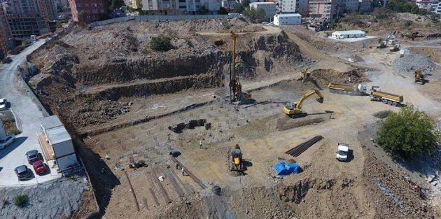Bağlarbaşı 7A Kentsel Dönüşüm Projesi'nin İnşaatına Başlandı