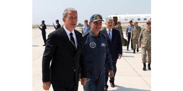 Bakan Akar: Türkiye ve TSK'nın B planı da var, C planı da var