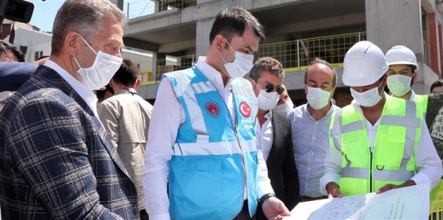 """Bakan Kurum: 'Örnek Bir Kentsel Dönüşümü Gaziosmanpaşa'da Yapıyoruz"""""""