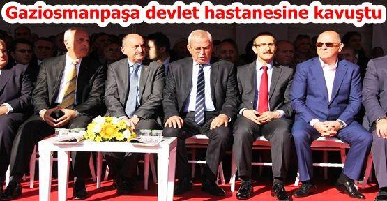 Gaziosmanpaşa Taksim Eğitim ve Araştırma Hastanesi Açıldı