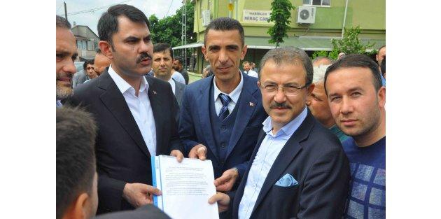 Bakan Murat Kurum'dan Kemerburgaz'a hastane müjdesi