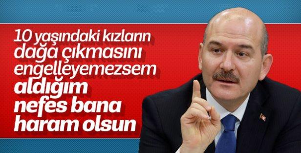 Bakan Süleyman Soylu Antalya'da konuştu