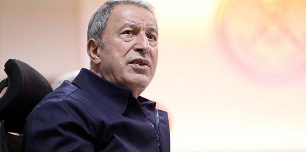Bakanı Akar: Rejim ordusundan 18 kişinin Rusya'ya teslimi için görüşmeler sürüyor