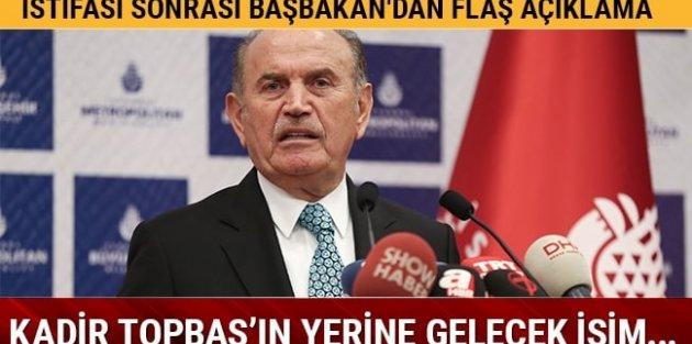 Başbakan Yıldırım: Topbaş'ın yerine ilçe belediye başkanlarından biri gelir