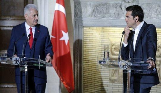 Başbakan Yıldırım'dan Yunanistan'a: Biz darbecilerin iadesini isteriz