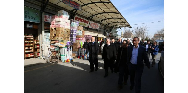 Başkan Aydın'dan Rami'ye Ziyaret