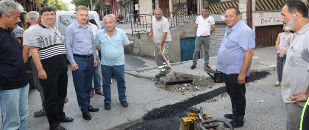 Başkan Usta Mahallelerin İhtiyaçlarını Yerinde Tespit Ediyor