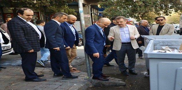 Başkan Usta'nın mahalle ziyaretlerine devam ediyor