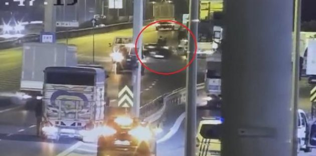 Bayrampaşa'da alkollü sürücü dehşeti