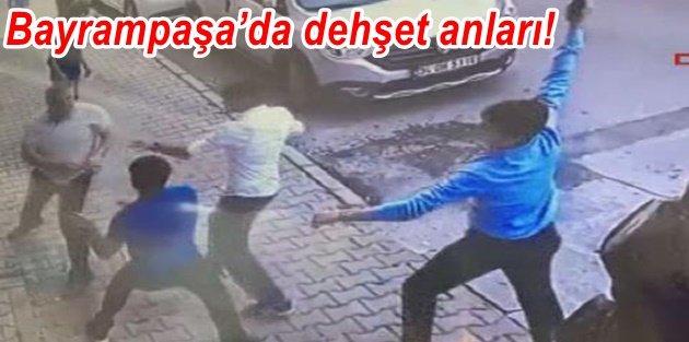 Bayrampaşa'da dehşet anları! Her şey bu kavgayla başladı