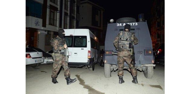 Bayrampaşa'da terör operasyonu