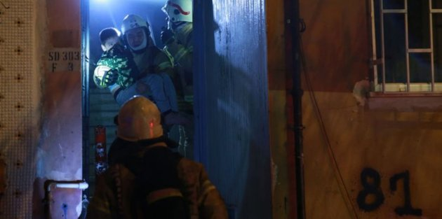 Bayrampaşa'da yangın paniği