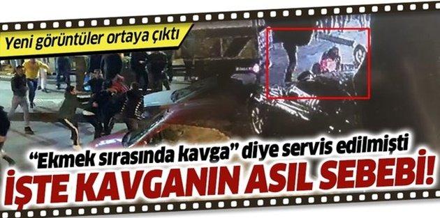 Bayrampaşa'daki kuyruk kavgası trafik kazası kavgası çıktı!