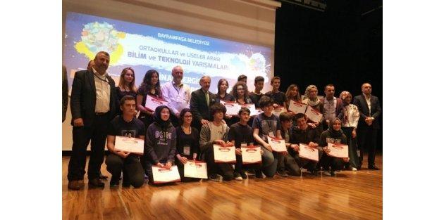 Bayrampaşa'nın Genç Kaşifleri Ödüllerini Aldı