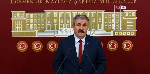 BBP Genel Başkanı Destici'den AK Parti ve MHP'ye yerel seçim çağrısı