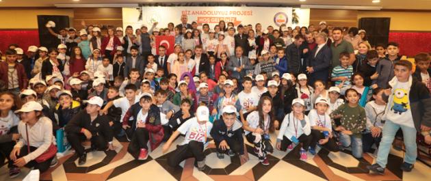 Biz Anadoluyuz Projesiyle Şırnak`tan Gaziosmanpaşa`ya Uzanan Mutluluk