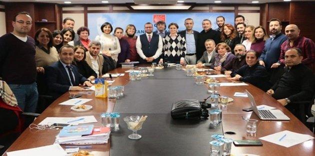 CHP Gaziosmanpaşa'dan Canan Kaftancıoğlu'na ziyaret