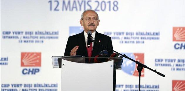 CHP Genel Başkanı Kemal Kılıçdaroğu: Bizim üstümüzdeki yük çok ağırdır